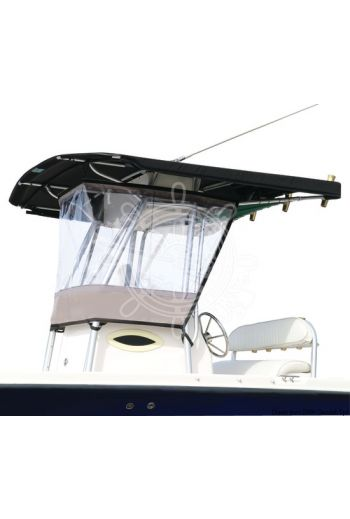Universal clear spray hood for T-TOPs