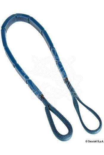 DOUGLAS MARINE mooring belt (Length: 1,25 m, Colour: Blue, Breaking load: 11.800 kg)