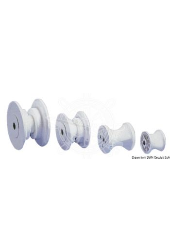 Spare nylon sheave for rollers