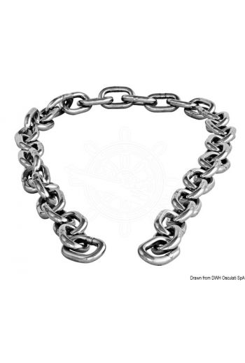 AISI 316 stainless steel chain piece
