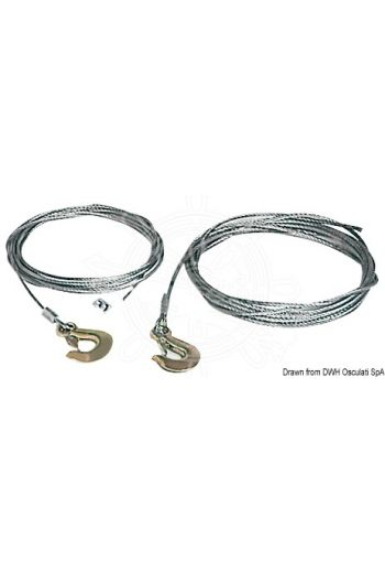 Cable for winch