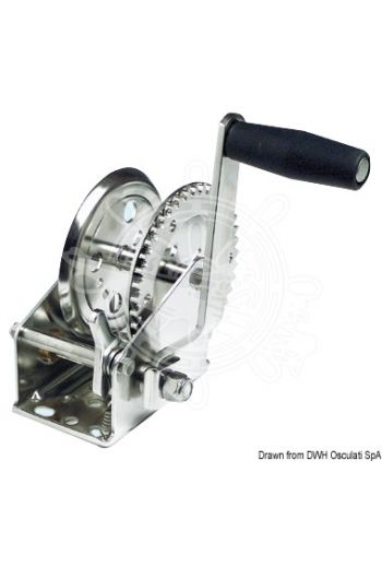 Dual Drive boat haulage winch