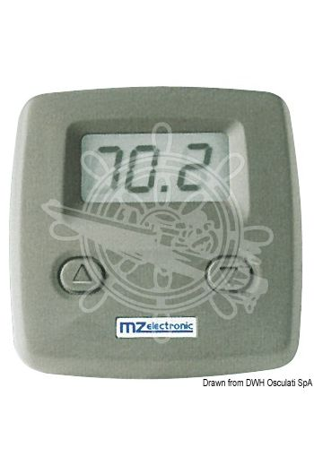 MZ ELECTRONIC simplified chain counter display (Measures: 65x65 mm)