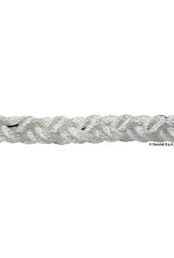 Square Line braid made of high-strength 8-strand polyester