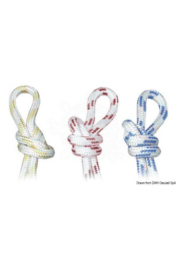 Double braid for Dyneema sheets