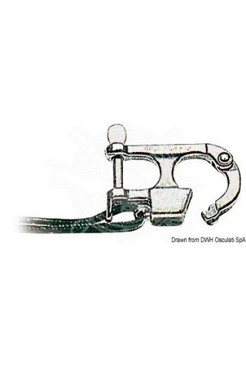 Standardized snap hooks suitable for water skiing (see Ministerial Order 4/2/60 and further orders)