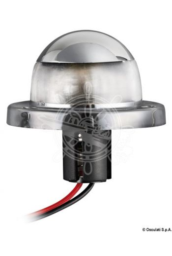 Utility navigation lights made of chromed ABS