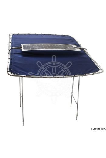 Solar panel for T-Tops (Max power (Wp): 40, V: 12, Measures: 113x32, Measures: 120 to 158)