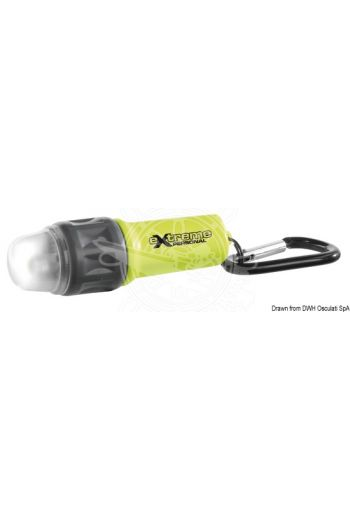 Extreme Personale emergency LED mini torch (Watertight up to m: 1, Lumen: 25, Max range m: 6, Life h - Fixed light: 11, Life h - Flash: 16, Body colour: )