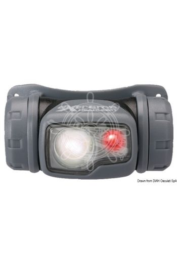 Extreme forehead LED torch (Watertight up to m: 1, Lumen/Candles - Full light: 80/440, Lumen/Candles - Half light: 20/120, Lumen/Candles -)
