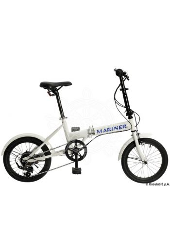 MARINER folding bicycle (Folded: 72x58x31 cm, Weight in kg: 12, OPTIONAL carrying bag: 12.373.02 nylon fabric)