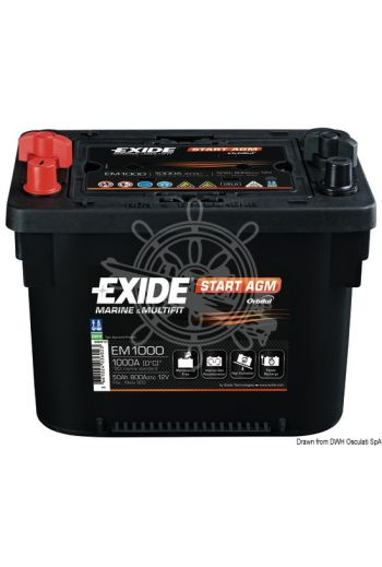 EXIDE Maxxima batteries with AGM technology