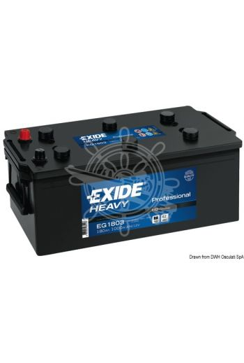 EXIDE Professional batteries for starting and onboard services