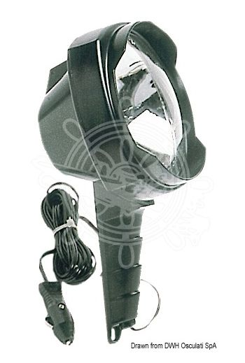 Able portable light (Capacity: 800 m, Candle wattage: 200.000/50.000, Spare bulb: 13.116.00)