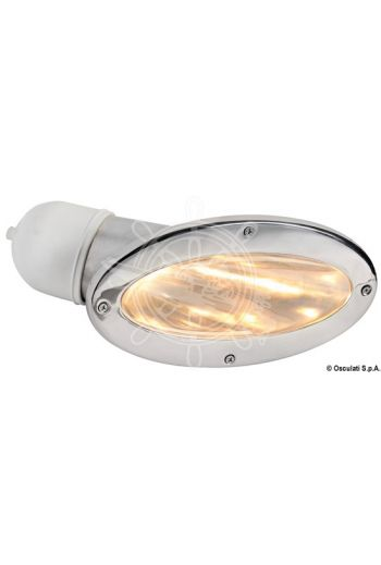 Compact fairing light pair with halogen bulb
