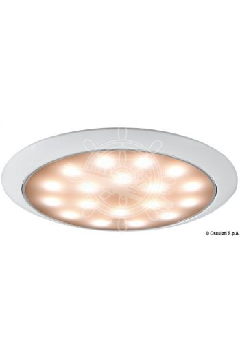 Day/Night LED ceiling light, recessless version