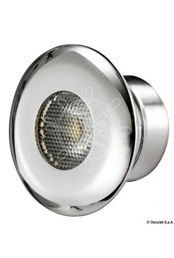 LED ceiling light for recess mounting