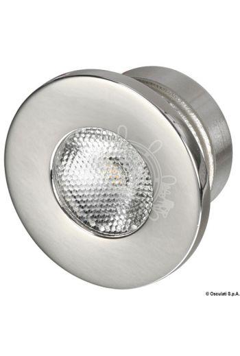 Recess-fit LED courtesy light