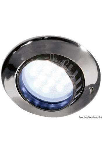 BATSYSTEM Comet LED spotlight for recess mounting