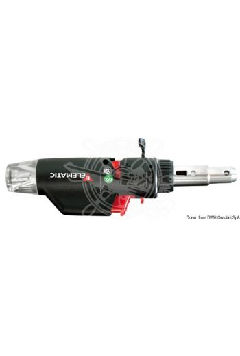 Gas-powered multipurpose tool (Duration: 30 minutes, Flame temperature: 1300°, Weight in g: 60)