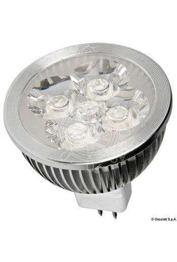 LED spotlight (V: 12, W: 4, lumen: 260, K: 6000, LED beam angle: 45°, Type: MR16, Ø: 50 mm)