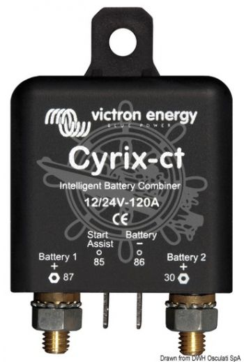 VICTRON Cyrix-I dual battery charger