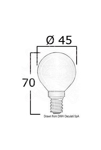 Bulb cap E14