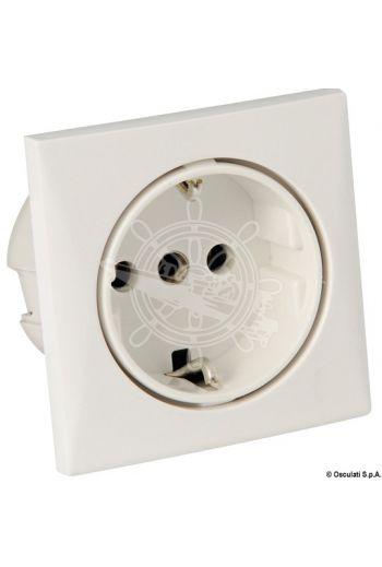 Schuko power socket