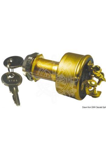 Watertight ignition key