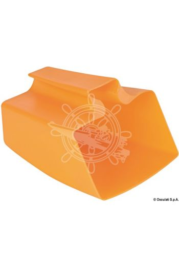 Regulation bailer (Color: Orange, Measures: 180x140x110 mm)