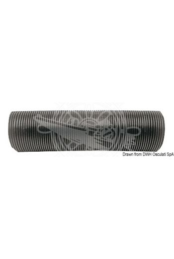 Light propylene hose for electric blowers (Piece: 50 m, Inner Ø: mm, Outer Ø: 80 mm, For blowers: 16.104.20; 16.104.21)