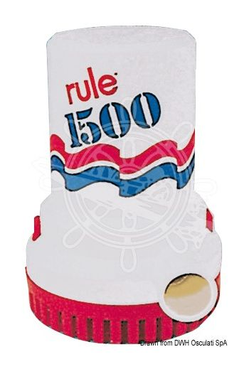 RULE 1500 and 2000 submersible pump