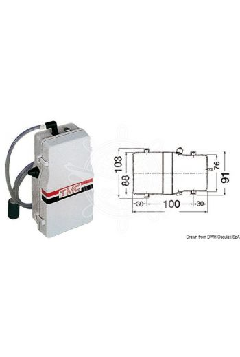 TMC electric aerator pump for livewell tanks