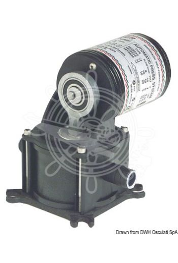 GEISER diaphragm self-priming bilge pump