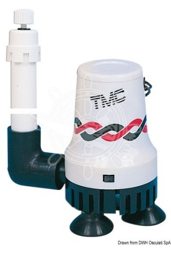 TMC aerator pump for livewell/baitwell tanks (V: 12, Flow l/min: 15,8)