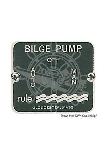 RULE panel switch for bilge pumps
