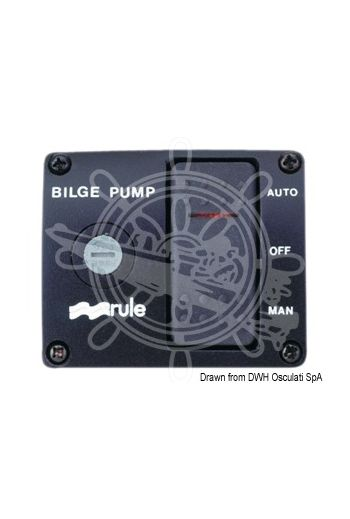 RULE Deluxe panel switch for bilge pumps