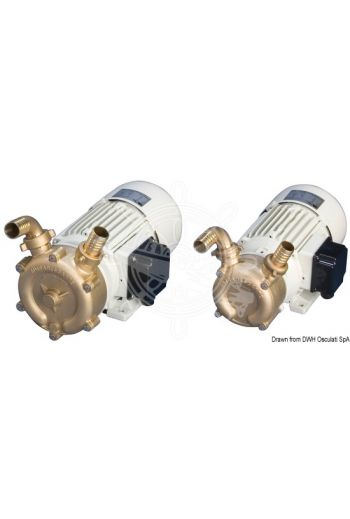 Professional bronze self-priming bilge pump