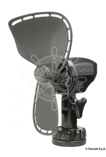 "CAFRAMO Ultimate fan (Colour: black, V: 12, No of speeds: 2, Blades: 7"" (17.8 cm) PE, Top speed current draw A: 0,41, Measures: 18x)"