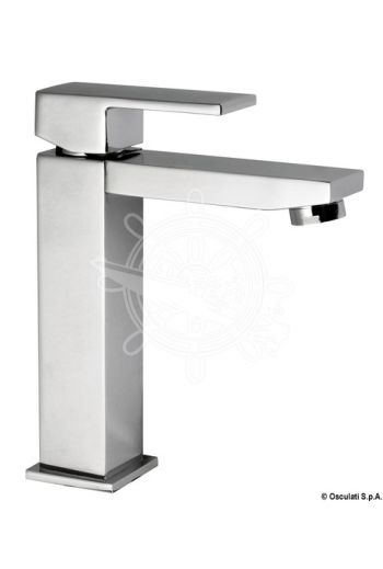 Square short mixer for toilet sink (A: 140 mm, B: 35 mm, C: 45 mm, D: 175 mm)