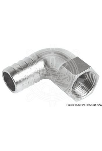 90° female hose adaptor