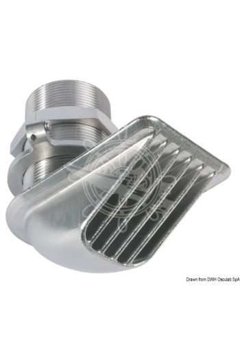 "BHF (Buzzi - Hi - Flow) thru hull scoop strainer (Section: 2"")"