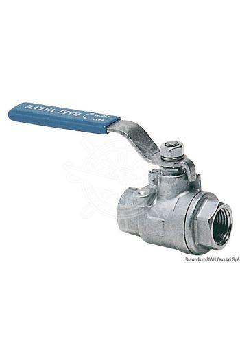 Shut-off full flow ball valve female/female