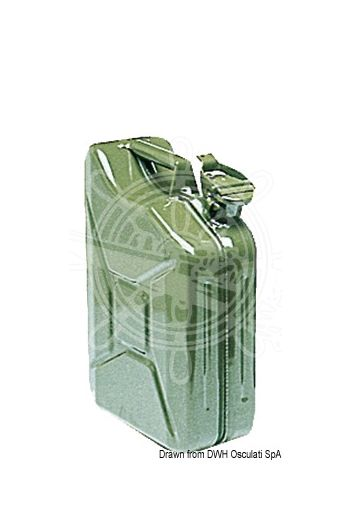 Petrol jerrycans (Litre size: 10)