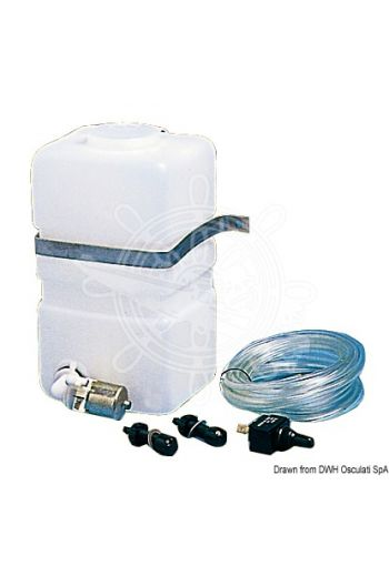 Window cleaning kit (Measures: 220x100x130, Litres: 2,8)