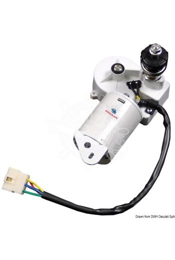 30W motor for max 550-mm arms and wiper blades