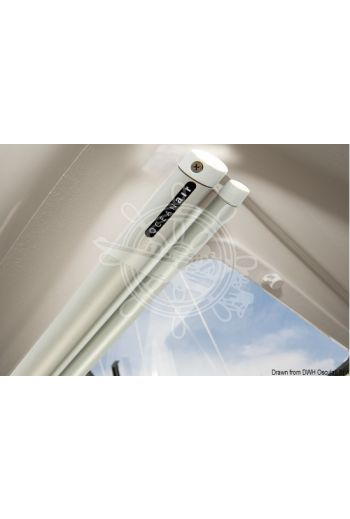 OCEANAIR Skyshade Portshade 320 roller blind for portlights and small windows