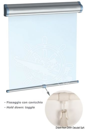 OCEANAIR Skyshade Hatchshade 750 roller blind for hatches and windows