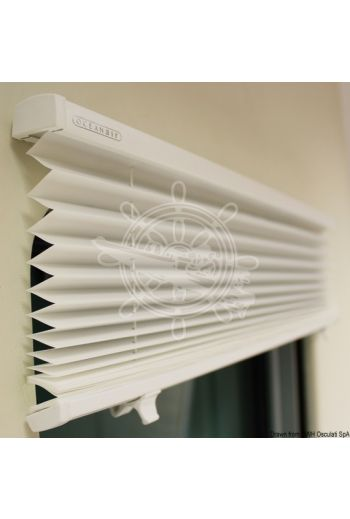 Oceanair Skysol Motion pleated blind for hatches and portlights