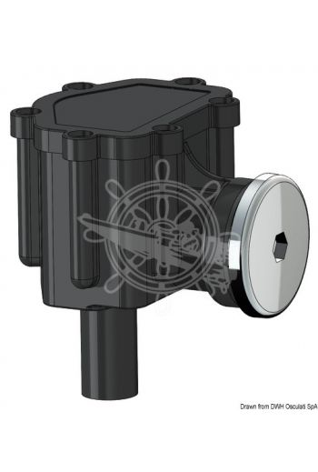 Fuel-Lock vent with trap to prevent water to flow back (Hose adaptor for hose Ø mm: 16)